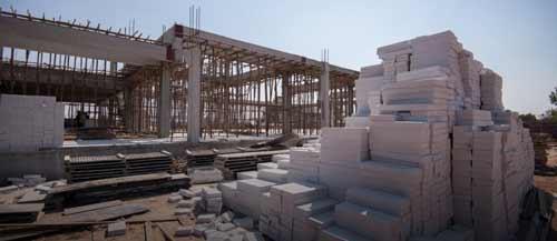 بتن آرمه یک مصالح ساختمانی محبوب است